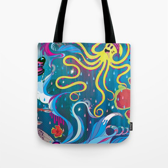 Every Time a Whale Blows Their Spout, a New Dream is Born. Tote Bag