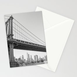 Manhattan Over Manhattan Stationery Cards