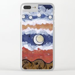 If the blue sky is a fantasy, Clear iPhone Case