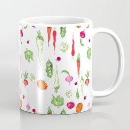 Veggie Party Pattern Coffee Mug