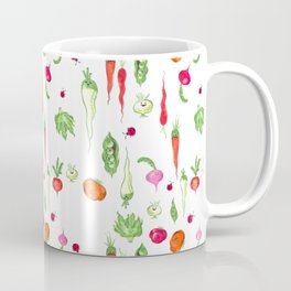 Veggie Party Pattern Coffee Mug