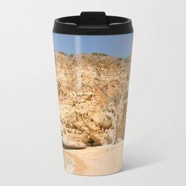 Paradise Beach Portugal Travel Mug