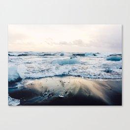 Diamond Beach, Iceland Canvas Print