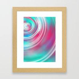 Decks Abstract Ripple Print Framed Art Print