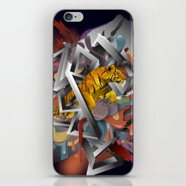 Year of The Tiger iPhone Skin