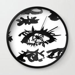 EYES NO.001B Wall Clock