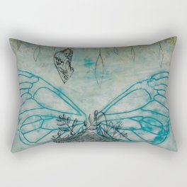 Wings, Nest, and Chrysalis Rectangular Pillow