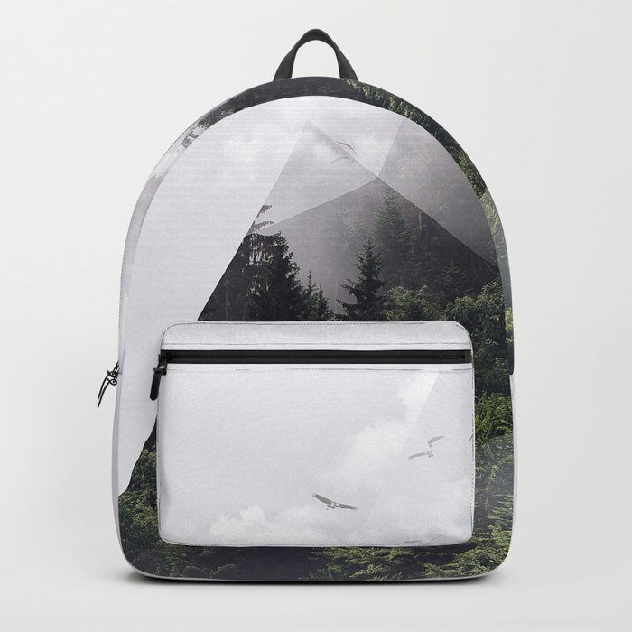 Forest triangle Backpack