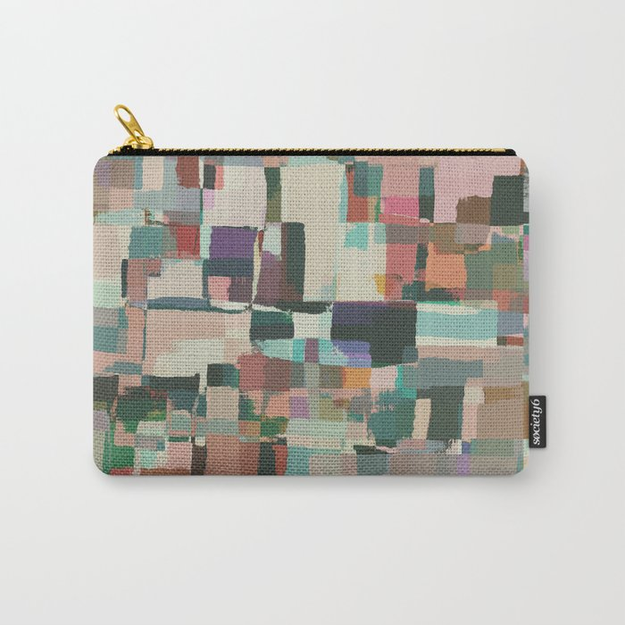 Abstract Painting No. 8 Carry-All Pouch