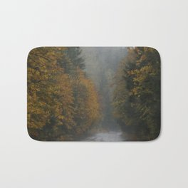 Autumn Roads Bath Mat