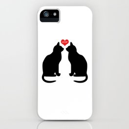 KPOP Cats Love iPhone Case