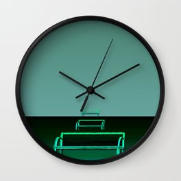 Waited for hours Wall Clock