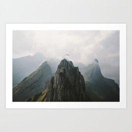 Flying Mountain Explorer - Landscape Photography Art Print