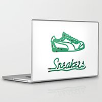 sneakers Laptop & iPad Skins featuring Sneakers by CREAM