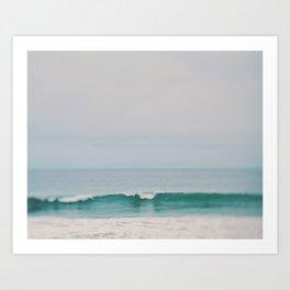 Beach Wave Photograph Art Print