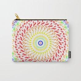 Rainbow Kaleidoscope 7 Carry-All Pouch