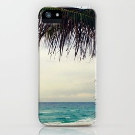 Sea and Palm  iPhone Case
