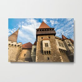 Castle & Cloudscape Metal Print