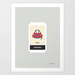 Arizona Baseball Ticket (20 of 30) Art Print