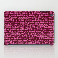 lv iPad Cases featuring LV by anhnt32