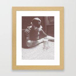 Einar Vs The Beer  Framed Art Print