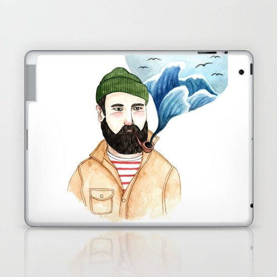 The Sailor and the Sea Laptop & iPad Skin