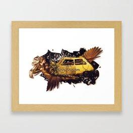 The Big Bang | Collage Framed Art Print