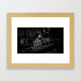 The Club Stage Framed Art Print