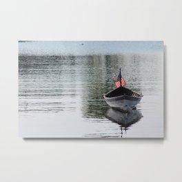 Solitude on Juniper Cove Metal Print