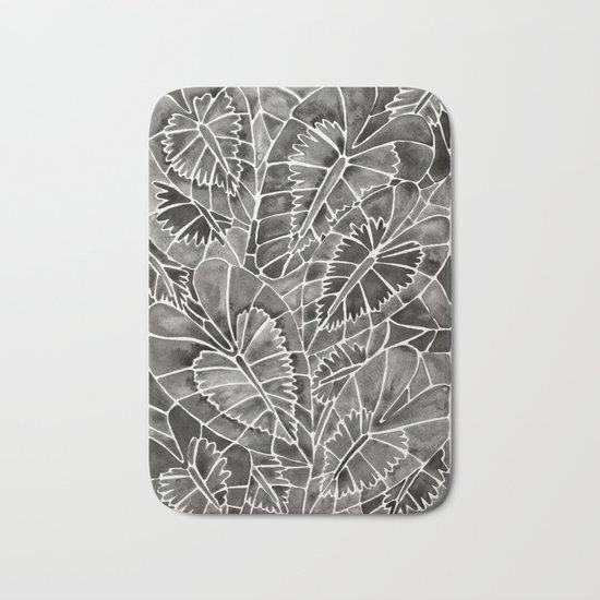 Schismatoglottis Calyptrata – Black Palette Bath Mat