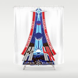 Expedition 41 / International Space Station Shower Curtain