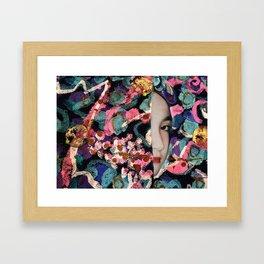 The Veil Framed Art Print