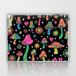 Rainbow Mushrooms Laptop & iPad Skin