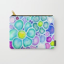 Tide Pool Daisies Carry-All Pouch