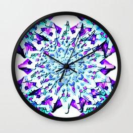 METTA Mandala Wall Clock