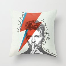 .Starman. Throw Pillow