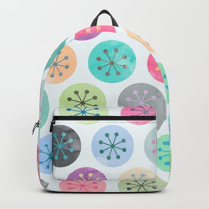 Watercolor Lovely Pattern V Backpack