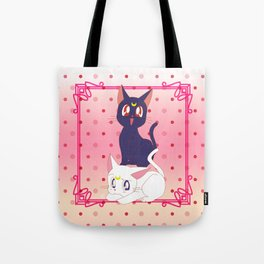Luna e Artemis  Tote Bag
