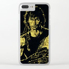 John Rambo - The Legend Clear iPhone Case
