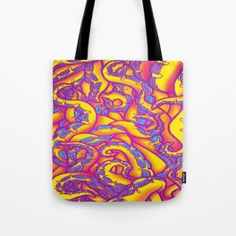 Tropical Punch Tentacles Tote Bag