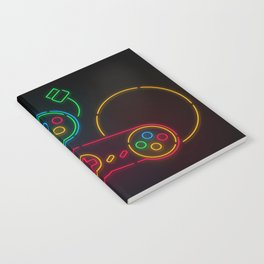 Neon Nostalgia Notebook