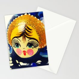 Babushka nesting doll Stationery Cards