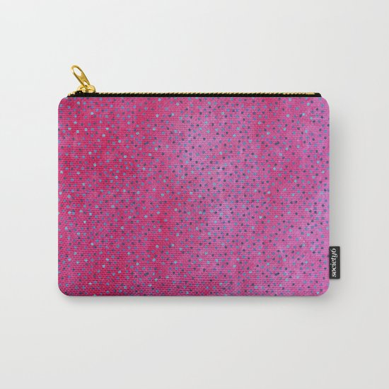 Pink & Blue Polka Dots #society6 #buyart #decor Carry-All Pouch