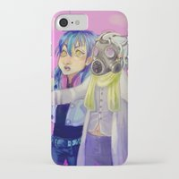 dmmd iPhone & iPod Cases featuring Watch out! Clear and Aoba by Mottinthepot