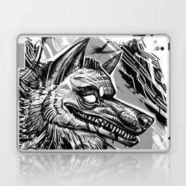 Wolfy smile Laptop & iPad Skin