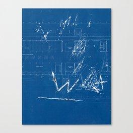 wall fiction 3 Canvas Print