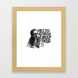 Pam | Office Framed Art Print
