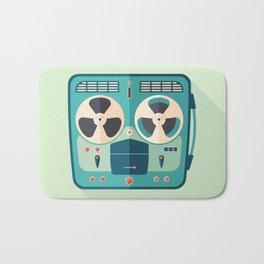 Reel to Reel Tape Recorder Bath Mat