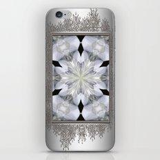 White Arctic Queen Kaleidoscope iPhone & iPod Skin