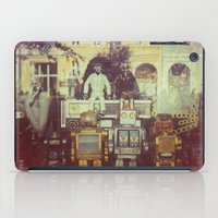 robots iPad Cases featuring Robots by GF Fine Art Photography
